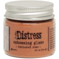 Tim Holtz Distress Embossing Glaze -Embossingpulver -  Tattered Rose