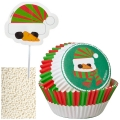 Wilton Backzubehör Snowman Cupcake Decorating Kit