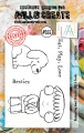 AALL & Create Clear Stamps - Eat Play Love