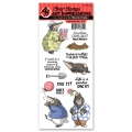Art Impressions Clearstamps Holy Moley Set