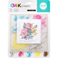 We R Memory Keepers CMYK Clearstamps - Rose