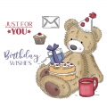 Bild 2 von For the love of...Stamps by Hunkydory - Clearstamps Teddy Loves... Birthdays