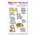 Stampendous Perfectly Clear Stamps - Puppy Therapy - Hunde Therapie