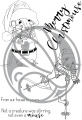 The Rabbit Hole Designs Clear Stamps -Merry Mousemas - Weihnachten Maud