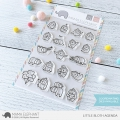 Mama Elephant - Clear Stamps LITTLE SLOTH AGENDA - Faultiere