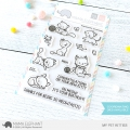 Mama Elephant - Clear Stamps MY PET KITTIES - Katzen