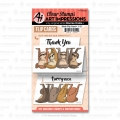 Art Impressions Clear Stamps Sloth Flip Card - Faultiere