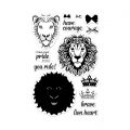 Hero-Arts-Clear-Stamps-Color-Layering-Brave-Lion