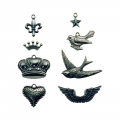 Tim Holtz Adornments Charm Pack