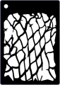 Creative Expressions Mini Stencil - Fish Net
