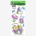 Art-Impressions-Clearstamps-Easter-Blessings