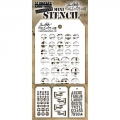 Tim Holtz Collection Schablone Mini Layering Stencil Set #29