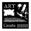 Woodware Stencils - Broken Art