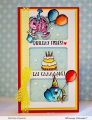 Bild 4 von Whimsy Stamps Clear Stamps  - Best Fishes - Party Fische