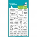 Lawn Fawn Clear Stamps  - Clearstamp Say What? Spring Critters