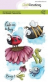 CraftEmotions Stempel - clearstamps A6 - Bugs 1 Carla Creaties