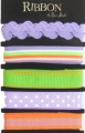 Ribbon Purple & Orange