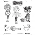 Dyan Reaveley's Dylusions Cling Stamp Gummistempel Mini Moo
