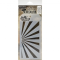 Tim Holtz Collection Schablone Layering Stencil Shifter Rays
