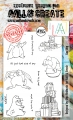 AALL & Create Clear Stamps  - Bad Day