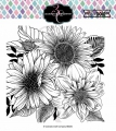 Colorado Craft Company Clear Stamps - Big & Bold~Daisy & Dahlia