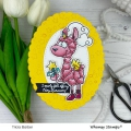 Bild 5 von Whimsy Stamps Clear Stamps  - Fairy Llamacorn Magic