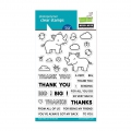 Lawn Fawn & Hero Arts Clear Stamps  - Clearstamp fawn big thanks