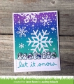 Bild 6 von Lawn Fawn Clear Stamps  - Clearstamp winter scripty sentiments