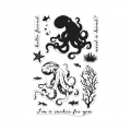 Hero Arts Clear Stamps Color Layering Octopus