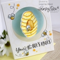 Bild 4 von Honey Bee Stamps Clearstamp - Hi Honey - Textstempel