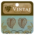 Vintaj Filigree Leaf Charm