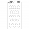 Bild 2 von Tim Holtz Collection Schablone Layering Stencil Hearts