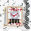 Bild 6 von Whimsy Stamps Clear Stamps - Yeti for Love