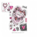 Polkadoodles Clear Stamps - You & Me Stamp Set