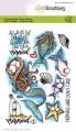 CraftEmotions Stempel - clearstamps A6 - Mermaid 1 Carla Creaties