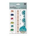 Gummistempel Urban Stamp Trim Borders