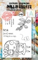 AALL & Create Clear Stamps  - Tea Time