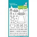 Lawn Fawn Clear Stamps  - Clearstamp Beam Me Up