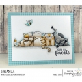 Bild 3 von Gummistempel Stamping Bella Cling Stamp SQUISHY CATS RUBBER STAMP