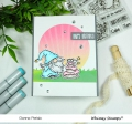 Bild 7 von Whimsy Stamps Clear Stamps  - Gnome Birthdays -  Gnomengeburtstage