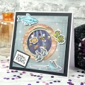 Bild 3 von Hunkydory - Create-A-Shaker Paper Pad - Outer Space & Deep Blue Sea - Papierblock