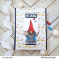Bild 8 von Whimsy Stamps Clear Stamps  - Gnome Birthdays -  Gnomengeburtstage