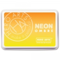 Hero Arts NEON Ombre Stempelkissen Yellow To Orange