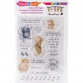 Stampendous  Perfectly Clear Stamps - Home So Sweet