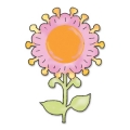 Sizzix Originals Die Stanzschablone Flower, Sunflower #2