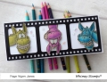 Bild 6 von Whimsy Stamps Clear Stamps - Wonky Donkey Esel