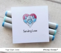 Bild 5 von Whimsy Stamps Clear Stamps - Yeti for Love