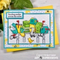 Bild 2 von Art Impressions Clear Stamps with dies Happy Mailbox Cubbies - Stempelset inkl. Stanzen
