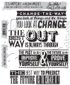Tim Holtz Stempelgummis Motivation 2