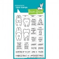 Lawn Fawn Clear Stamps  - Clearstamp Don't Worry, Be Hoppy
